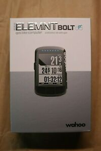 Used Black Wahoo ELEMNT BOLT GPS Bike Computer
