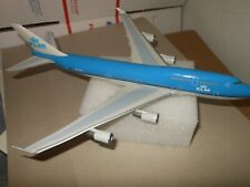 KLM Plastic Model Boeing 747-400 PH-BFJ 1:250 Scale No Stand