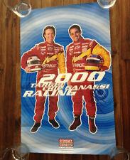 Juan Pablo Montoya Jimmy Vasser Signed Poster 2000 Target Chip Ganassi Indy Car