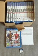 Job Lot of 15 x Sony Playstation Vita PSvita Fifa 13 German Version German Only