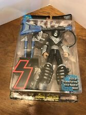"McFarlane Toys KISS: Ace Frehley 1997 8"" action figure NOC Guitar Transforms"