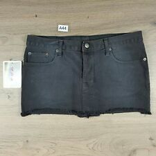 Tsubi Womens Miniskirt Size 12 NWT Paris Match Mini Skirt W33 L10.5 Ksubi (A44)