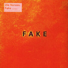 Die Nerven - FAKE, LTD 1000 Vinyl/LP, Multicoloured+Poster+Sticker MINT, SEALED