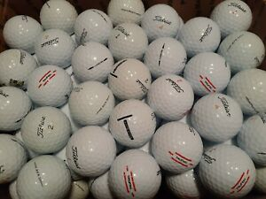 125 Titleists TruFeel, Velocity, AVX, Tour Soft Mix 5A / 4A Used Golf Balls