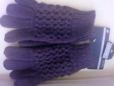 Gloves Purple Knitted Peter Storm Bnwt