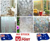 AU SELLER 45cmx10m Roll Vintage Flower Vinyl Furniture Wall Paper Sticker