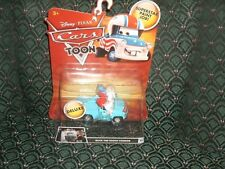 DISNEY PIXAR CARS TOON - BUCK THE TOOTH VENDOR - #11- New in package - RARE -