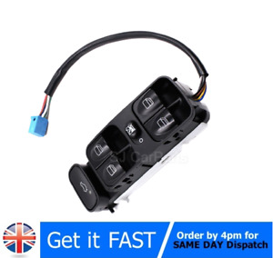 Front Electric Control Window Switch For Mercedes C Class W203 C180 C200 C220