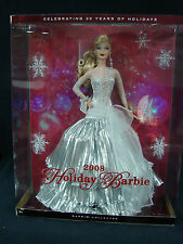 Mattel Celebrating 20 Years of Holidays  2008 Holiday Barbie New