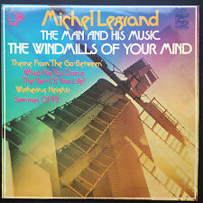THE MAN AND HIS MUSIC Film Soundtracks LP Michel Legrand Windmills Of Your Mind