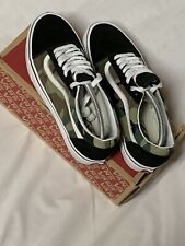 Vans Old Skool Woodland Camo Skate Shoes Men's Sz 8 Women 9.5