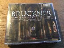Bruckner - Complete Masses / Te Deum [3 CD Box] Heinz Rögner Nicol Matt