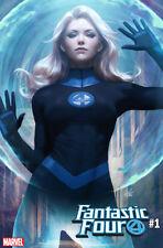 Fantastic Four #1 Artgerm Variant covers Marvel Comics 1st Prints Set of 4