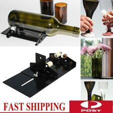 Glass Wine Bottle Jar Beer Cutter Machine Tool Kit Crafts Art Cutting DIY Set