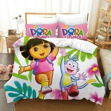 Dora the Explorer Collection Single/Double/Queen/King Bed Quilt Cover Set