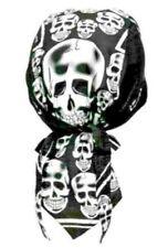 pañuelo pañuelo Bandana foulard avec têtes de morts Bandana Headscarf With Skulls