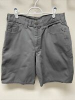 "Men's Carhartt Original Fit Shorts Gray 9"" Inseam EUC"