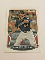 2013 Bowman Baseball Base Card - Paul Goldschmidt - Arizona Diamondbacks