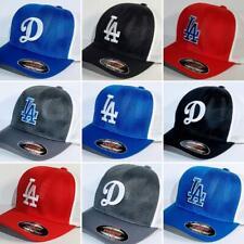 "Los Angeles Dodgers ""Flex Fit"" Cap ⚾Hat ⚾CLASSIC MLB PATCH/LOGO ⚾2 Sizes ⚾New"