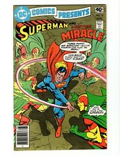 DC COMICS PRESENTS #12 (FN) 1978 SUPERMAN AND MISTER MIRACLE