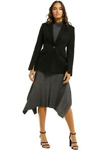 Country Road Tailored Blazer in Black Size 12