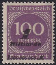 Deutsches Reich Mi.Nr. 331 b, Vorstufe zu II, postfrisch, echt, einwandfrei