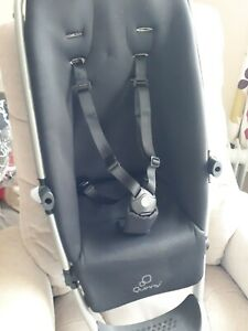 Quinny Buzz Buzz Xtra Seat Unit With Black padded cover and harness