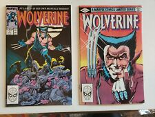 Wolverine #1 Frank Miller 1982 & 1988