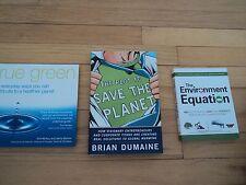 3 Environmental Books Environment Equation True Green Plot To Save The Planet