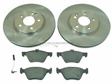 MERCEDES CLK320 97-02 FRONT BRAKE DISCS AND PADS SET & WIRE SENSOR WEAR LEAD NEW