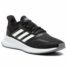 Scarpe Ginnastica Adidas Runfalcon Ragazzo Donna Sport Run Black White Nero