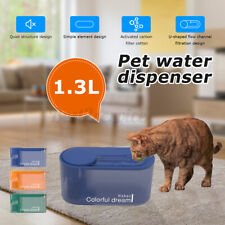 1.3L Pet Water Fountains Automatic Water Dispenser For Cats And Dogs
