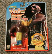 RARE 1991 Hasbro Texas Tornado WWF WWE Wrestling Figure Blue Card Series 3