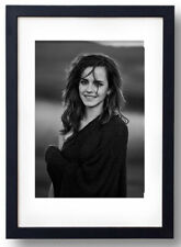 Emma Watson photo by Peter Lindbergh for Vogue - Framed print - 64x44 Cm.