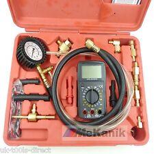 Kit de prueba de presión de combustible con multi meter test calibre BANJO PERNO GM-TBI Shrader