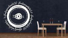 Lord Of The Rings Wall Sticker Vinyl Lotr One Ring Modor Decal Stencil Gift