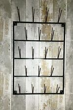 HANDMADE INDUSTRIAL FRENCH STYLE BOTTLE DRYER CUP MUG GLASS PLATE RACK  BAR CAFE