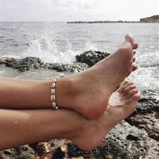 Boho Handmade Shell Anklet Beach Sea Sandal Bracelet Foot Ankle Jewelry Gift JA