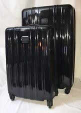 Tumi V3 2 Piece Set Luggage Worldwide Packing Case & Short Trip Suitcase 4 Wheel