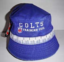 huge selection of c965e a93a4 Indianapolis Colts Vintage Puma New 2000 Training Camp Official S M Bucket  Hat
