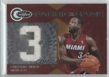 2010-11 Totally Certified Jersey Number /299 Dwyane Wade #4