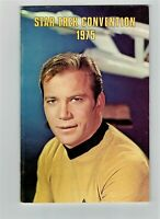 Star Trek Convention Book 1975 William Shatner