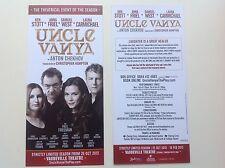 2x flyers UNCLE VANYA Ken Stott Anna Friel Samuel West Laura Carmichael