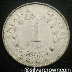 Costa Rica 1 Colon 1984(L). KM#210.1. One Dollar coin. London mint.