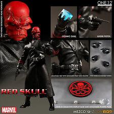 ONE:12 rojo cráneo figura de acción colectiva Universo Marvel Mezco Toyz 1/12 16cm