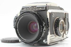 [EXC++] Zenza Bronica S2 Late Medium Format Camera Nikkor-P 75mm f2.8 Lens Japan