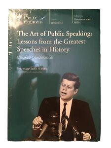 Great Courses DVD The Art of Public Speaking Lessons from the Greatest Speeches