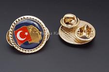 Mustafa Kemal Atatürk Türk Bayragi Rozeti Rozet Anstecknadel Türkei Flagge Fahne