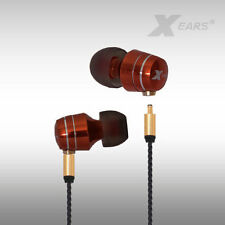 In Ear Kopfhörer Xears® blutorange mit absteckbarem Kabel Pure Audio XPA2PRO