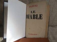 le diable par Giovanni Papini traduit de l'italien par René Patris Flammarion